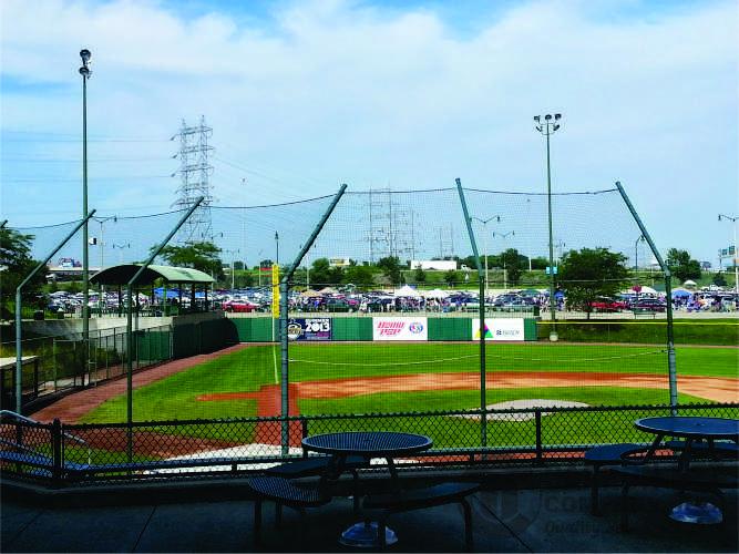 PRODUCT PHOTOS: Carron Net Company: Sports Nets | Baseball \u0026 Softball Backstop