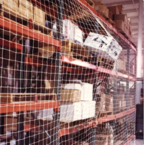 Carron Net Company Inc Industrial Nets Pallet Rack Guard Nets