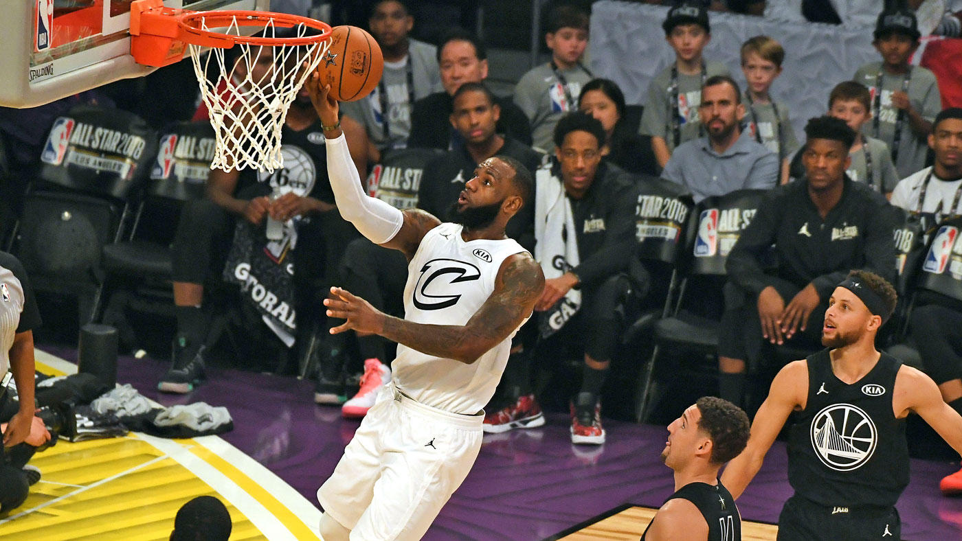 fd34a6392a31 Carron Delivers a Slam Dunk with NBA All-Star Game Nets